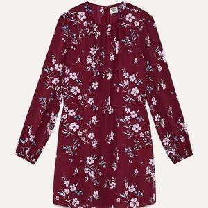 "Aritzia/Sunday Best | ""Poppins"" Red Floral Dress❤️"